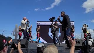 Pitbull ft. Blake Shelton -- Get Ready (LIVE) (NASCAR on NBC 2020 theme?)