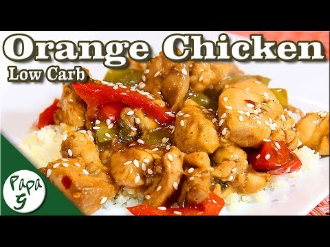 Zesty Orange Chicken – Low Carb Keto Chinese Take Out Recipe