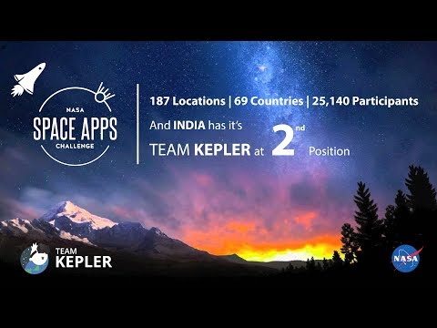 Team Kepler : Dream Space Simulator (NASA Space Apps Challenge 2017)