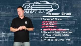 Airsoft GI - Back to Basics - Tactical Slings - Magpul, Condor, Vickers, Irene Adaptive Sling