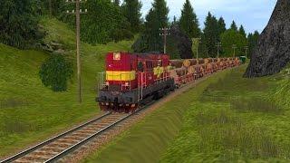 Trainz Railroad Simulator 2004 - Jízda 1 - Vn 66362 a Pn 66363