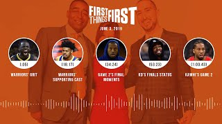 First Things First audio podcast (6.3.19) Cris Carter, Nick Wright, Jenna Wolfe | FIRST THINGS FIRST