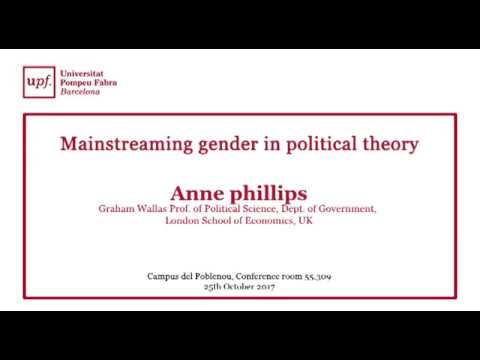 Mainstreaming gender in political theory.