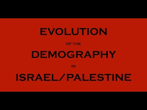 10 Facts - Population in Israel/Palestine in the last 2000 years