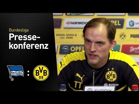 Thomas Tuchel: Spirit zeichnet unsere Mannschaft aus | Hertha BSC - BVB