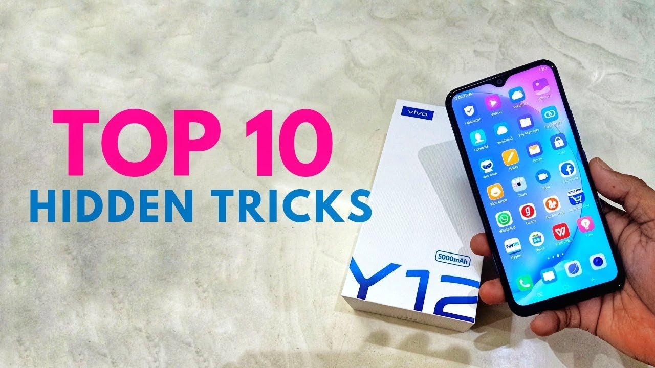VIVO Y12 Top 10 hidden features Trick & Tips   Hindi
