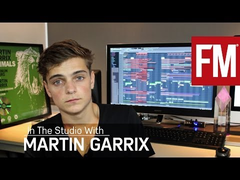Martin Garrix In The Studio With Future
