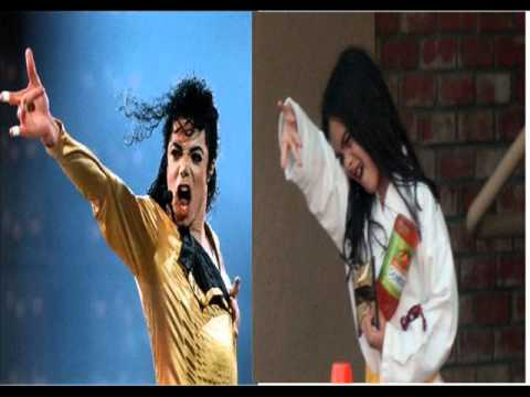 Prince and Blanket doing the same things as Michael!