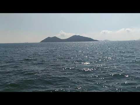 Ferry trip from Cheung Chau to Lantau Island