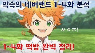 약속의 네버랜드 1~4화 떡밥 완벽정리!