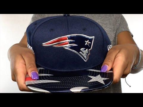 Patriots '2017 NFL ONSTAGE SNAPBACK' Hat by New Era
