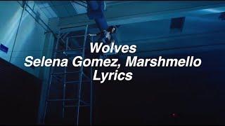 Wolves || Selena Gomez & Marshmello Lyrics Video