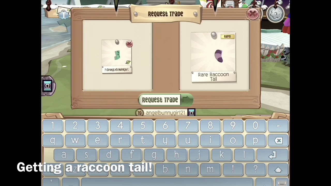 Getting a raccoon tail in animal jam play wild!