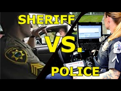 City Police vs County Sheriff: Redundant? Rivals?