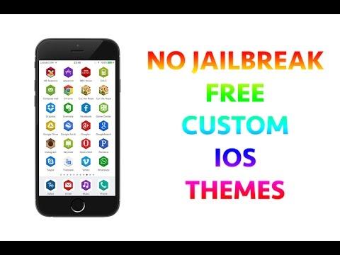 iPhone tweaks NO JAILBREAK - FREE custom themes