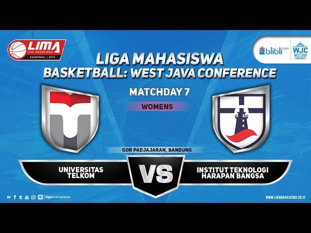 WOMEN'S TELKOM VS ITHB LIMA BASKETBALL: BLIBLI.COM WJC 2018