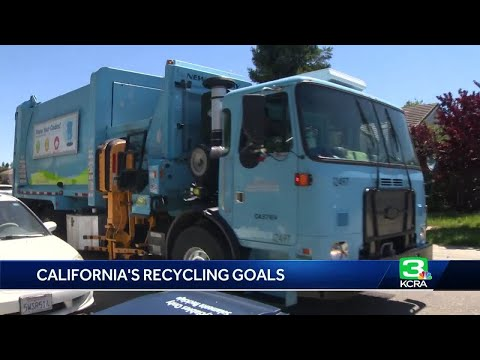 California falls behind to meet 2020 recycling goal