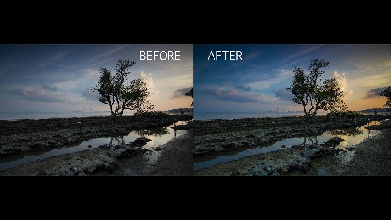 Tutorial Edit Foto Landscape dengan Handphone Android
