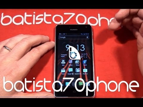 Video Recensione Huawei Ascend G615 da batista70phone