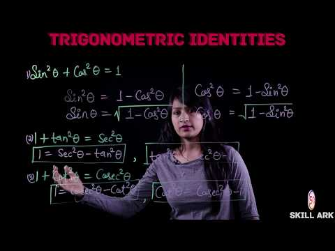 Trigonometric Identities (Part 1) - Learn How to Derive Trigonometric Equations by Trig Formulas