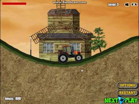 Игра Мания трактора проходим Игры для мальчиков