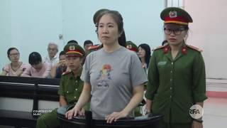 Mẹ Nấm hiên ngang bỉ mặt Nguyễn Phú Trọng dù bị kết án 10 năm tù