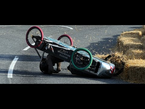 CARRETONS ANDRATX 2017 accidentes incluidos soapbox derby crashes gravity racing descenso carrilanas