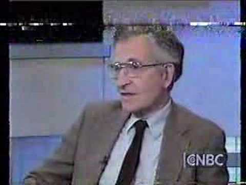 Donahue/Pozner: Chomsky (Part One)
