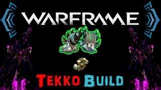 [U17.6] Warframe - Tekko / Gaia's Tragedy Stance [1 Forma]   N00blShowtek
