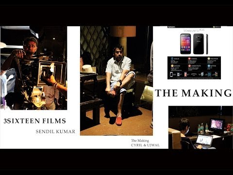 THE MAKING of KARBONN MOBILES AD
