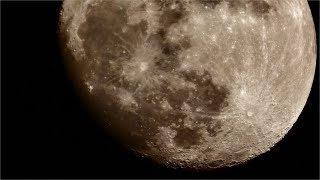 月齢12.6、視半径16.9' 昨夜とはWBを変えてみた。こっちのほうが月ら...