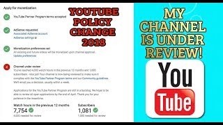 YOUTUBE TOOK AWAY MY MONETIZATION *My channel is under review*