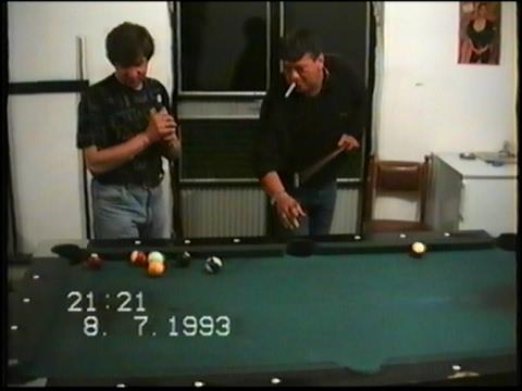 Bilijar klub Laborant. Vlase, Poljanica, Vranje 1993.g.