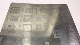 Baixar Stencil For MTK SPD Support Samsung/HTC Etc. (4 Pcs Stencil Set )