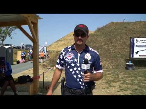 Bob Vogel interview at the 2017 IPSC World Shoot XVIII | France