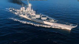 World Of Warships - MONTANA - УНИЧТОЖИТЕЛЬ РЕЛЬСОХОДОВ + ТЕСТ ФАРМА С КОМУФЛЯЖЕМ