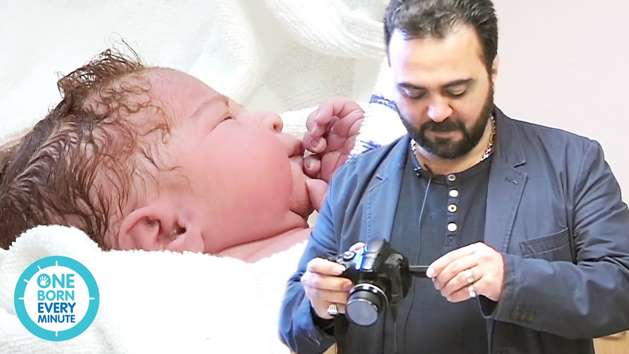 Dad Captures The Best Moments Of His Daughter's Birth! | One Born Every Minute