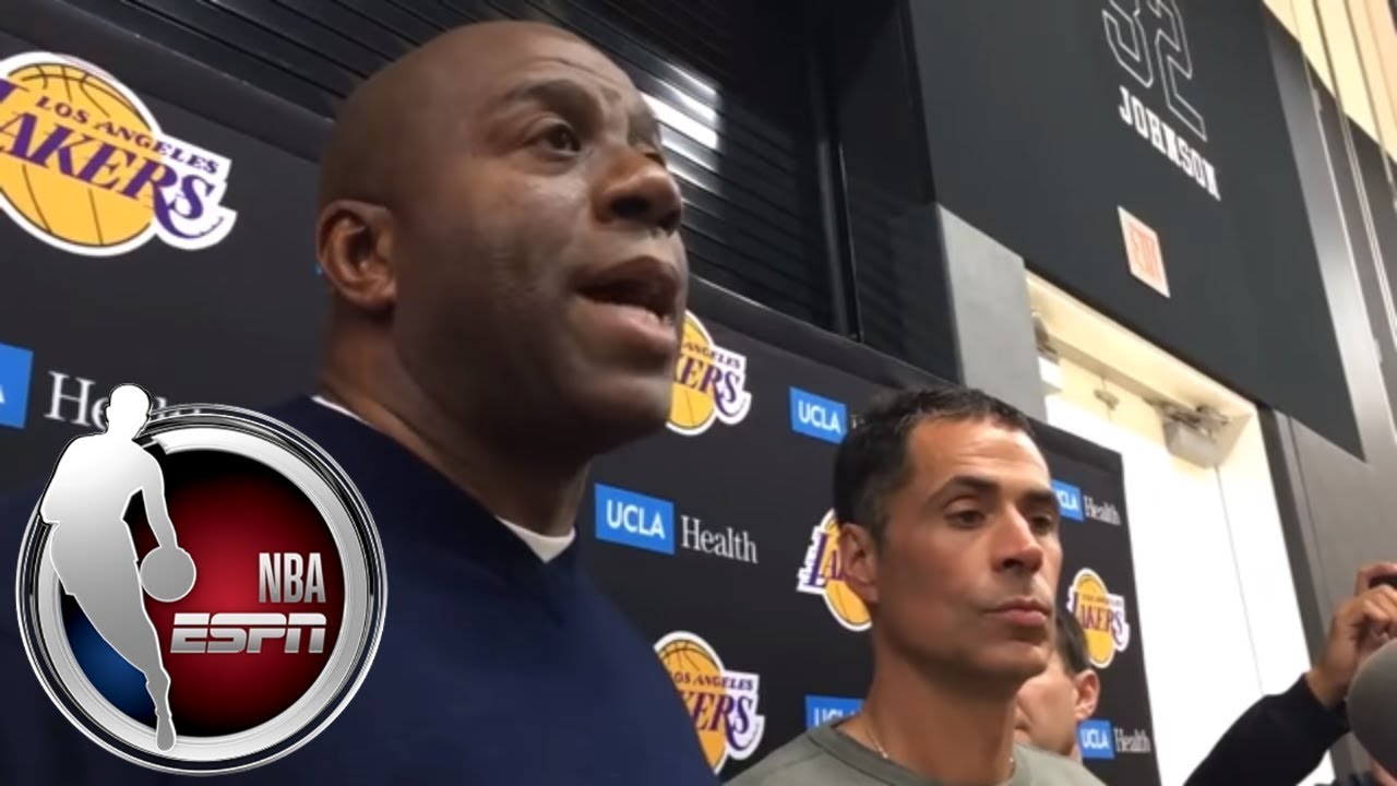 Magic Johnson calls Lakers' trade for package including Isaiah Thomas 'outstanding' | ESPN