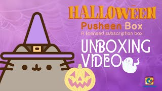 Pusheen Halloween Box 2019 (Unboxing Video)