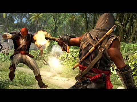 Assassin's Creed Freedom Cry Shotgun Kills & Free roam