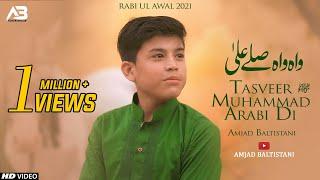Tasveer Muhammad Arabi Di | Amjad Baltistani | New Naat 2021 | 12 Rabi ul Awal 2021