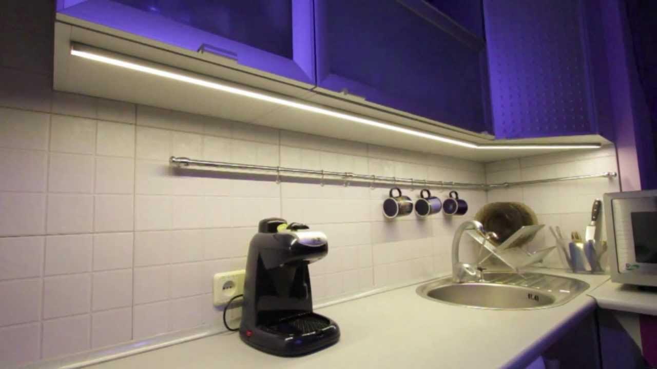 схема подключения точечных светильников в шкафах-купе
