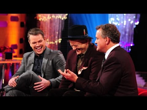 Hugh Bonneville justifies his red lips on 'Top Gear'  The Graham Norton : Episode 16  BBC One