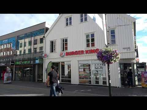 Kristiansand Norway Sony FDR-AX53 4K Film!