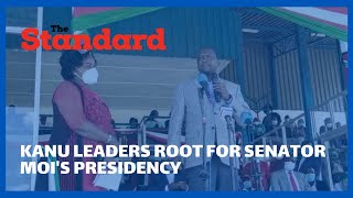 KANU leaders pitch camp in Baringo for BBI reggae, root for Senator Moi\'s presidency