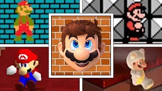 Evolution Of Wall Clipping Glitch In Every Mario Game (Main Series)