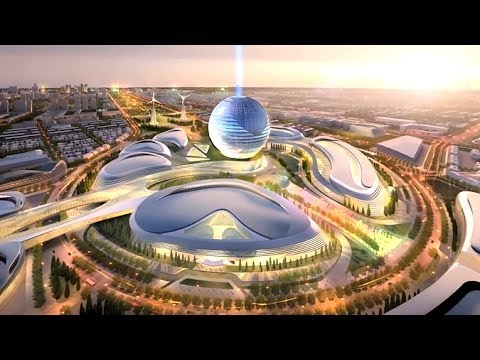 The World's First Futuristic City Will Be In (Drum Roll) Kazakhstan