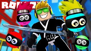 I AM SUPER NINJA HERO in ROBLOX NINJA HEROES