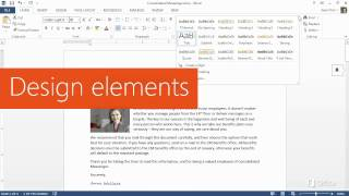 Training - Make the switch to Word 2013  Get going fast  - Video 1 of 5