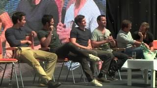 Teen Wolf Panel Dylan O'Brien, Tyler Hoechlin, Daniel Sharman, Ian Bohen, JR Bourne, Linden Ashby